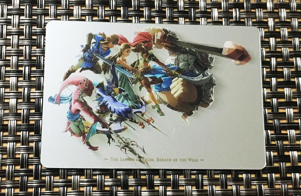 ゼルダの伝説ブレスオブザワイルドのカードの絵柄5(シークレット)