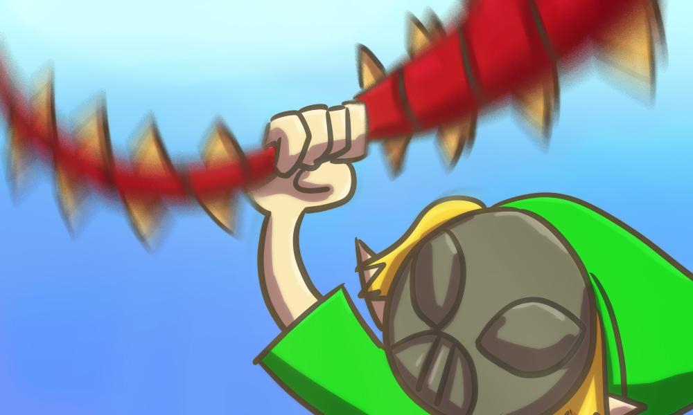 ゼルダの伝説ムジュラの仮面プレイ日記その25。ツインモルド戦は岩がなくなるとすごく困る。