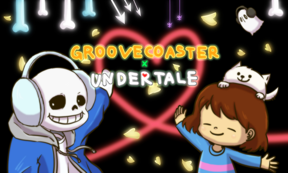 groovecoaster×undertale