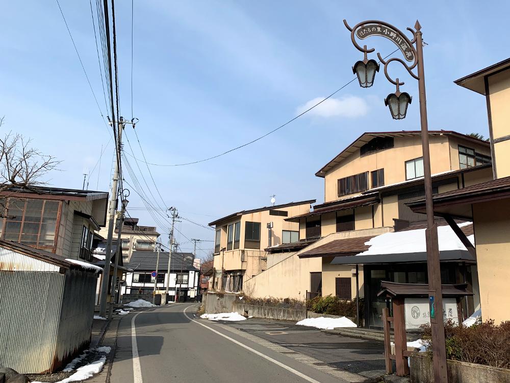 小野川温泉街1