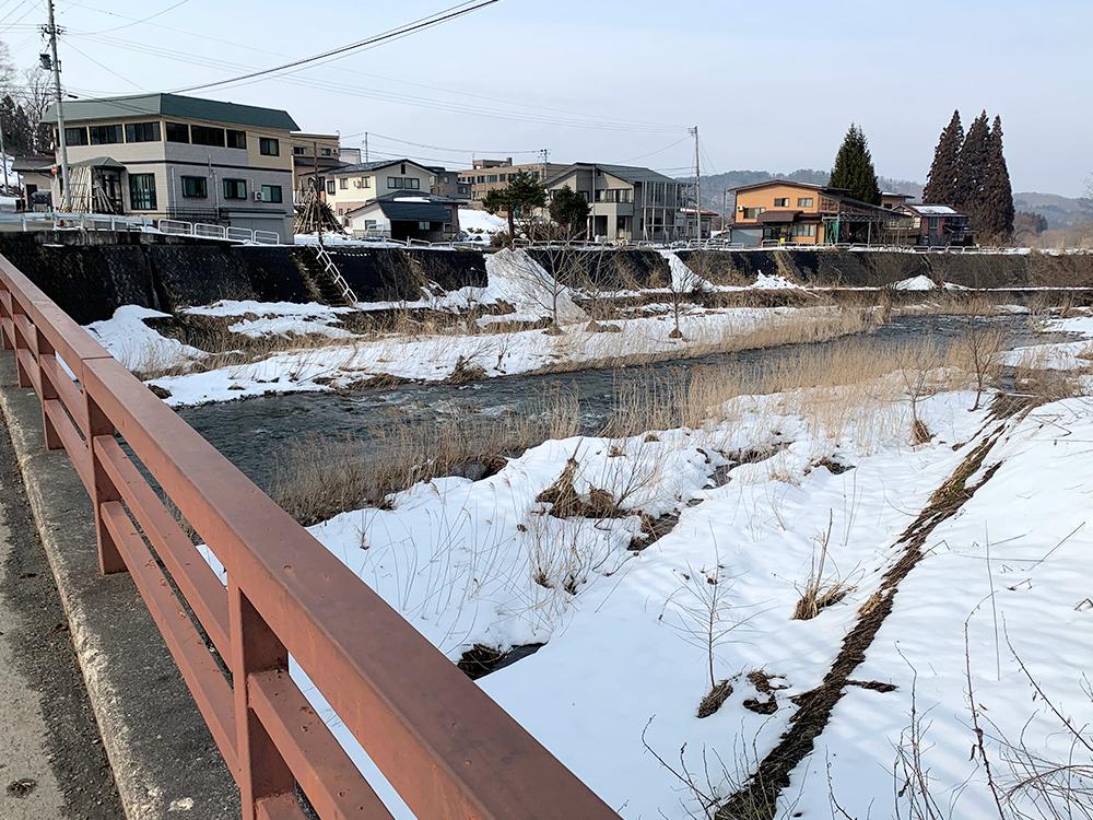 小野川温泉街10