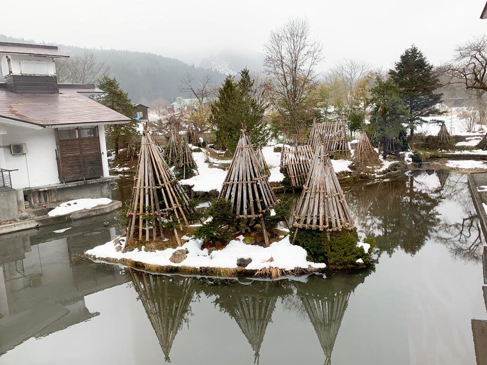 小野川温泉河鹿荘_部屋から見えた景色