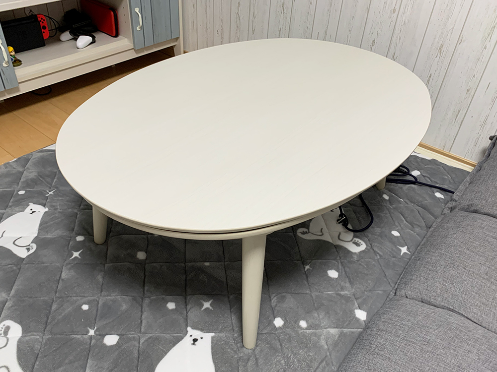 布団なしこたつテーブル