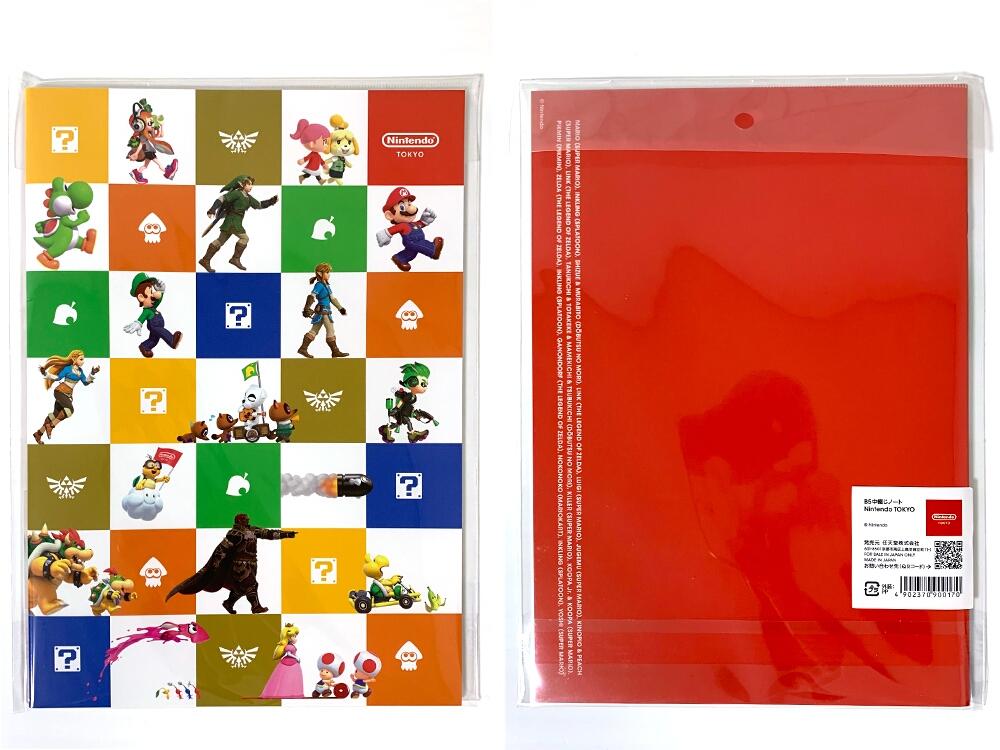 Nintendo TOKYOグッズ_オリジナルノート