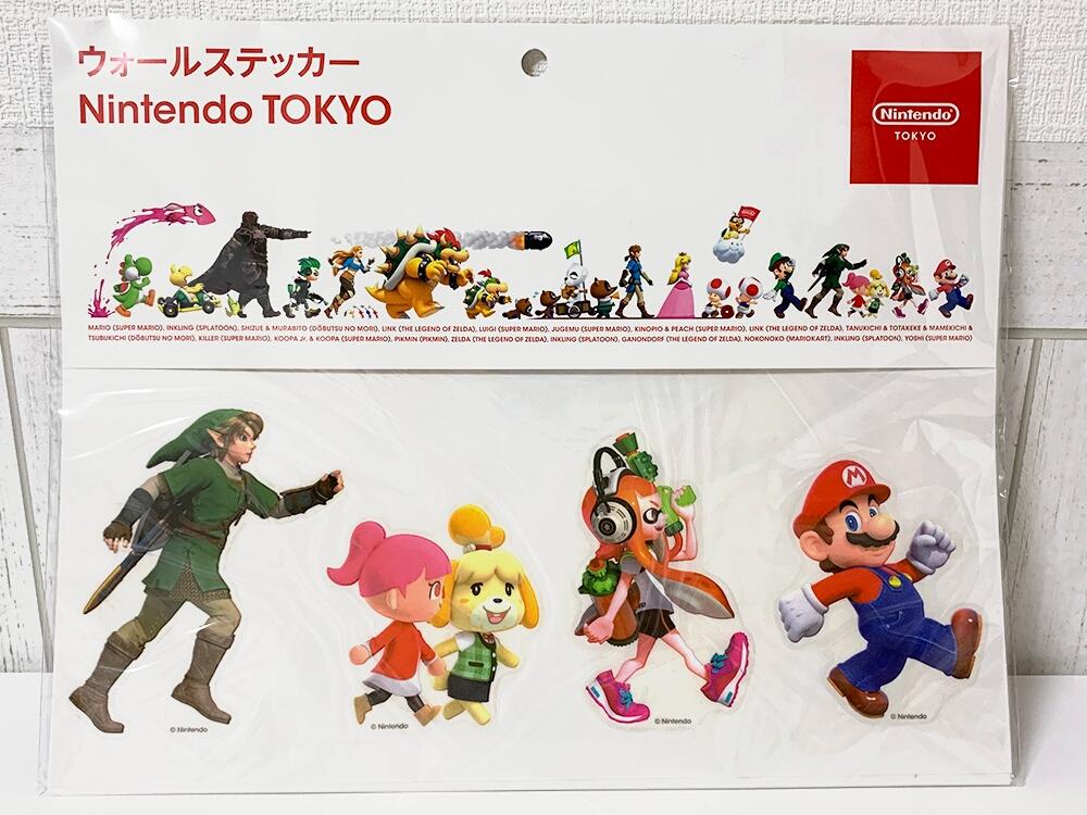 Nintendo TOKYOグッズ_ウォールステッカー