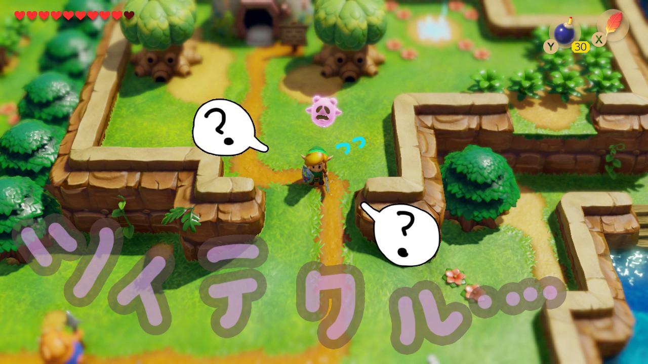 ゼルダの伝説夢をみる島ネタバレありプレイ日記4_ツイテクル2