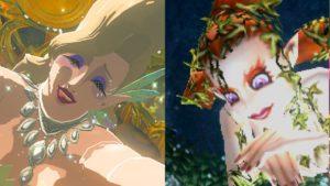 ゼルダの伝説夢をみる島ネタバレありプレイ日記7_歴代の濃い大妖精
