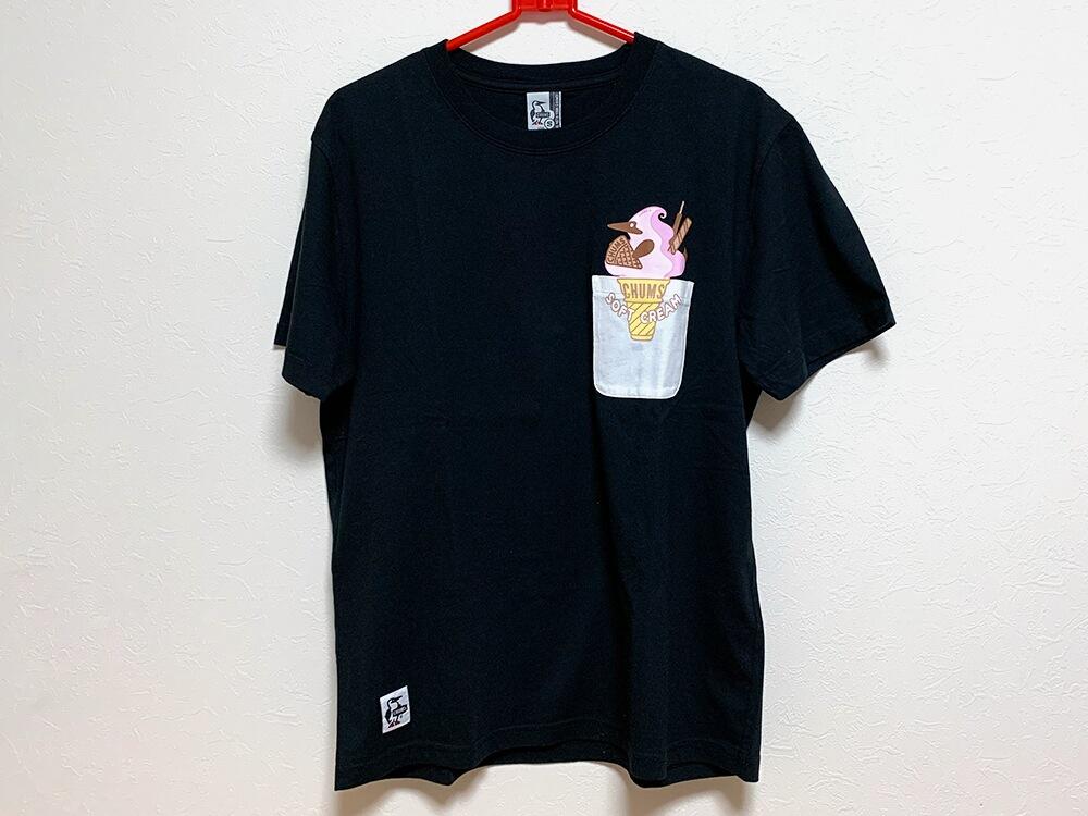 CHUMSメンズTシャツ