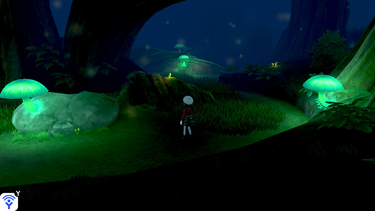 ポケモン剣盾レビュー 神秘的な森